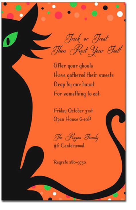 halloween invitation  dress   work festival