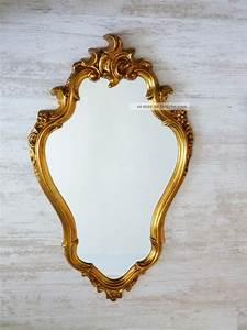 Runde Spiegel Mit Rahmen : sch ner spiegel iim barock stil wandspiegel goldener rahmen verziert ~ Bigdaddyawards.com Haus und Dekorationen
