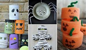 Halloween Deko Basteln : zu halloween basteln mit kindern 9 dekoideen aus ~ Lizthompson.info Haus und Dekorationen