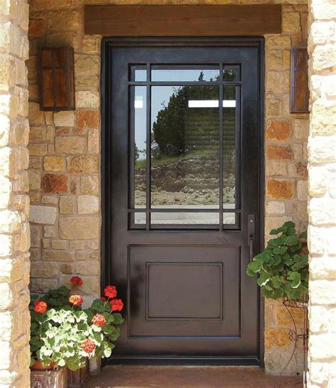 Exterior Door With Window by 22 Pictures Of Homes With Black Front Doors Page 4 Of 4