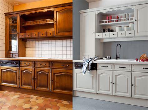 relooker une cuisine comment repeindre les meubles de la cuisine