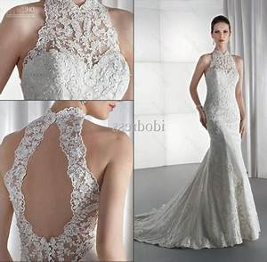 lace high neck wedding dress wedding dress gallery With high neck wedding dresses