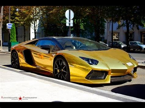 expensive cars gold top 10 luxury cars in the world 2015 2016 gold cars