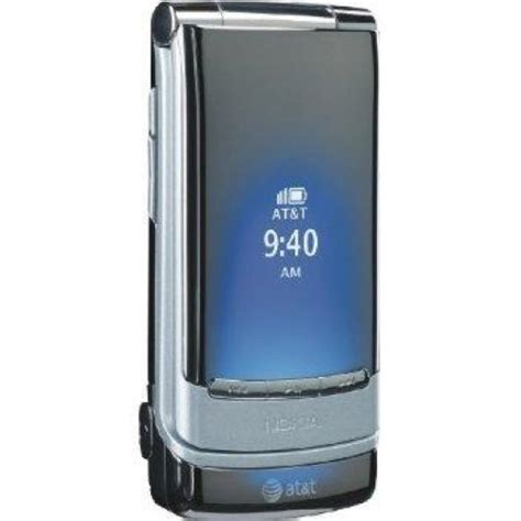 att nokia 6750 mural simple basic flip phone comes w charg