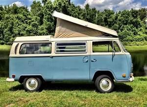 1970 Volkswagen Vw Camper Westfalia Campmobile Poptop Pop