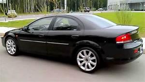 Video Chrysler Sebring  Sedan   2003  2 0i  16v  141 Hp   Mt  Black  R-18