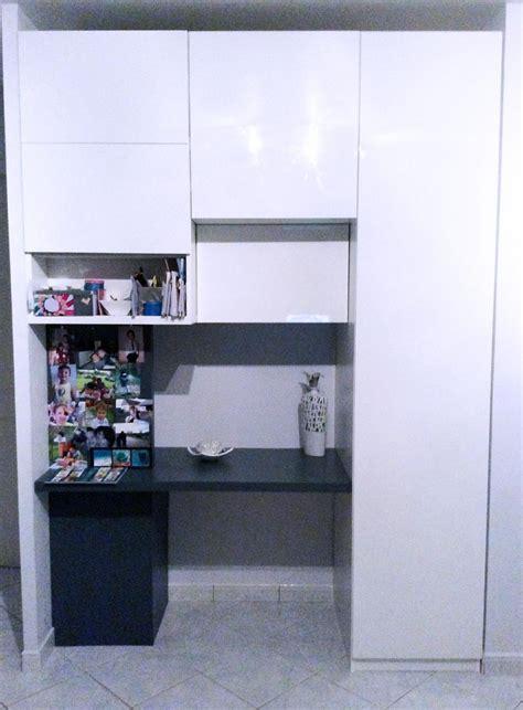 placard bureau ikea aménager entrée avec des placards intégrés placards