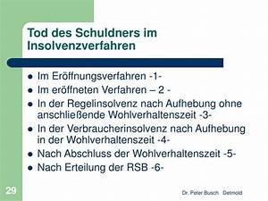 Tod Des Mieters Keine Erben : ppt die nachlassinsolvenz powerpoint presentation id 845573 ~ Buech-reservation.com Haus und Dekorationen