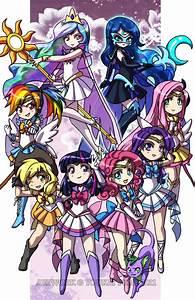 MLP Sailor Senshi by YoukaiYume