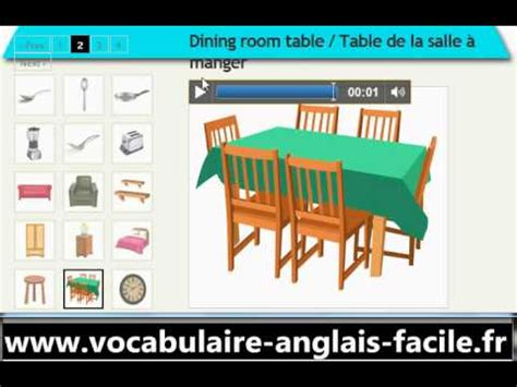 vocabulaire anglais la maison vocabulaire anglais facile