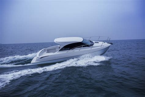 toyota unveils boat  multi material construction