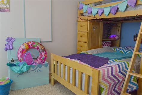 Mermaid Bedroom Redesign & Awesome Bunk Bed Solutions