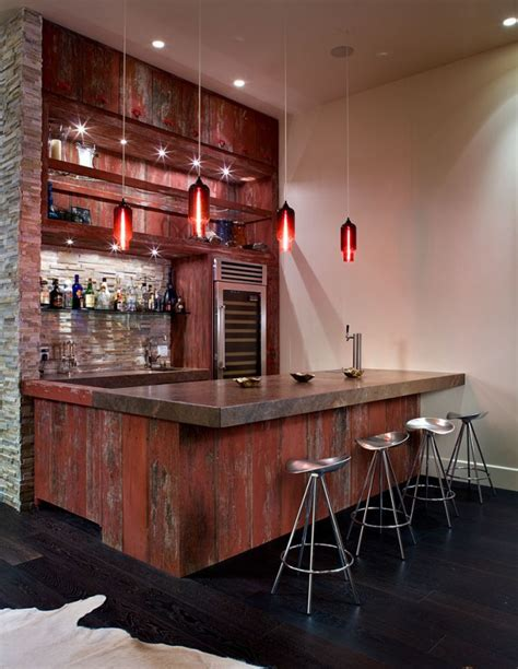 Contemporary Home Bar by 16 Amazing Contemporary Home Bars For The Best