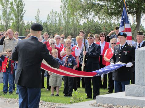 Perham Funeral Home by Veteran S Day Dedication Ceremony Schoeneberger Funeral