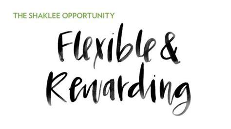 Chapter 4: Flexible & Rewarding - Shaklee Corporation
