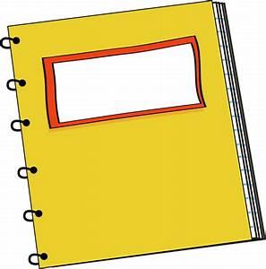 Yellow Spiral Notebook Clip Art - Yellow Spiral Notebook ...