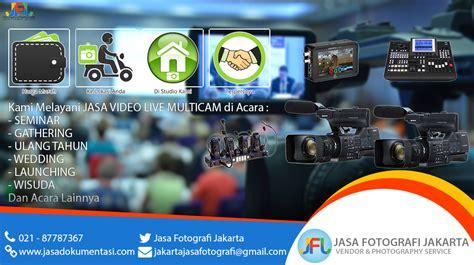 jasa dokumentasi video acara  multicam  screen jfj