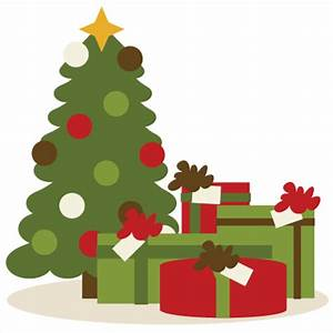 Christmas Presents Under Christmas Tree SVG cutting files ...