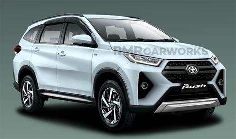 2020 Toyota Rush Facelift Imagined Digitally