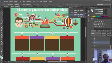 guia  crear infografias super originales  photoshop