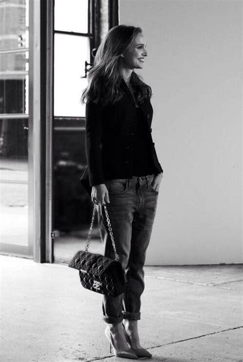 Natalie Portman Chanel Fashion Girls Pinterest