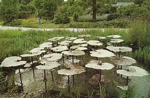 Jeux D Eau Jardin : fontaines et jeux d 39 eau l 39 veil des sens jardins aquatiques ~ Melissatoandfro.com Idées de Décoration