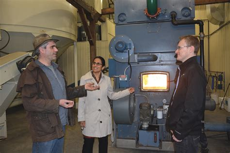 hutterite colonies leading  masses  biomass heating