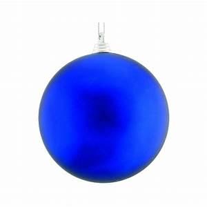Boule De Noel Bleu : boule bleue de noel 10cm ~ Teatrodelosmanantiales.com Idées de Décoration