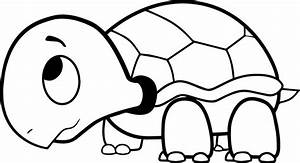 Turtle Coloring Page Water Turtle Coloring Pages ...