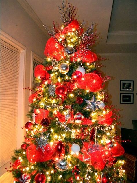 mesh christmas trees    info