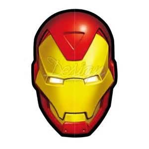Iron Man Superhero Logo