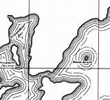 Leech Lake Clipart Coloring Map Depth Designlooter 01kb 366px Clipground sketch template