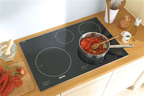 miele km   induction cooktop   cooking