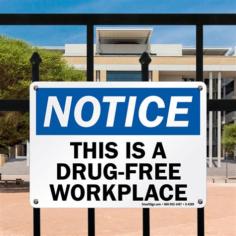 Free Workplace Sign Workplace Policy Sign Sku Free Workplace Signs Trespassing Property Signs Sku
