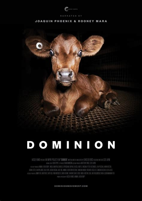 posters artwork dominion movement animal rights
