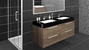 Meuble De Salle De Bain Double Vasque : meuble de salle de bain double vasques azzura mobilier moss ~ Teatrodelosmanantiales.com Idées de Décoration