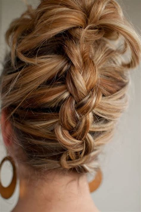 reverse french braid  summer hairstyle  long hair