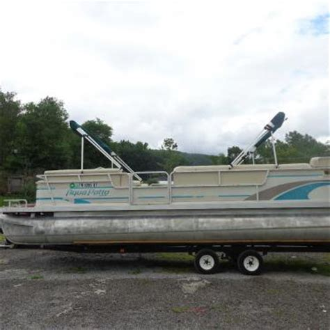 aqua patio pontoon bimini top aqua patio pontoon 1996 for sale for 6 500 boats from