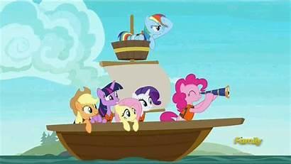 Boat Pony Mane Animated Rainbow Six Applejack