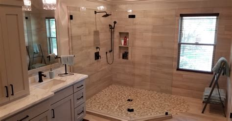 moving  upstairs  bathroom remodels trifection