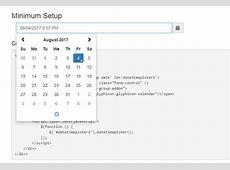 Vuejs component for eonasdan bootstrap datetimepicker