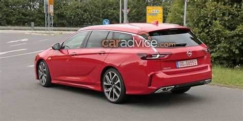 opel insignia gsi sports tourer spied