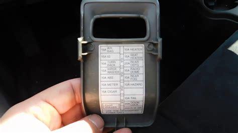 2003 Suzuki Aerio Fuse Diagram by Suzuki Aerio Fuse Box Location And Diagram