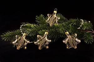 Weihnachtskugeln Aus Lauscha : 4 sterne transparent gold gst christbaumkugeln ~ Orissabook.com Haus und Dekorationen