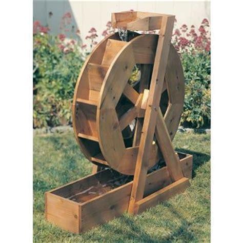 buy water wheel plan    woodcraft yard wooden