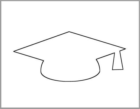 graduation cap template large printable grad etsy