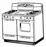 Stoves Vector Retro Downloads Stove Fairy Graphics Power sketch template