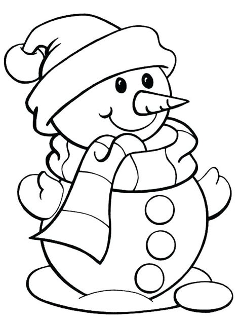 easy santa coloring pages  getcoloringscom
