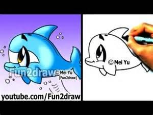 fun2draw dolphin fun2draw by the drawers