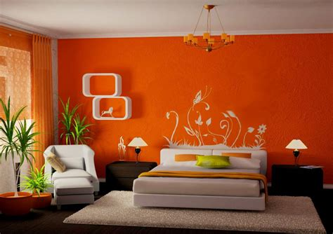 beautiful yellow paint wall decor painting walls ideas wood dark nightstand table floral carpet